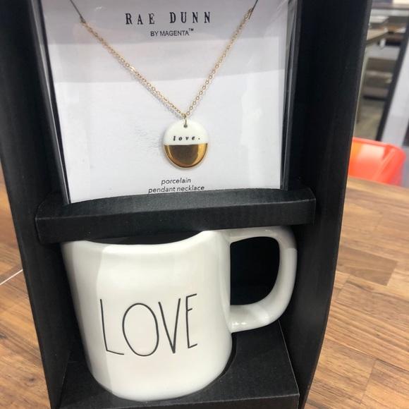 Rae Dunn love coffee and mug